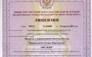 В каких случаях нужно оформлять лицензию на перевозку груза