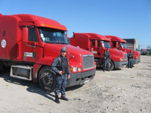 Охрана для сопровождения грузов