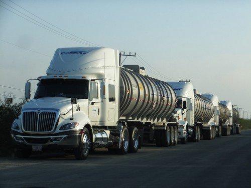 Грузоперевозки наливных грузов