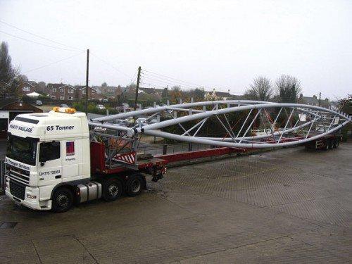 Перевозка длинных грузов