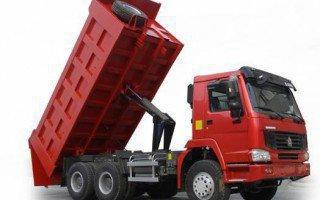 Правила и особенности перевозки сыпучих грузов самосвалами