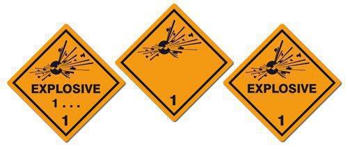 Опасные грузы взрывчатые