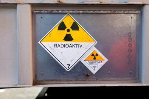 Значок радиоактивного груза