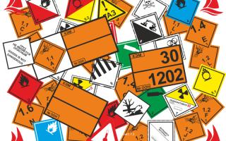 Особенности маркировки опасных грузов