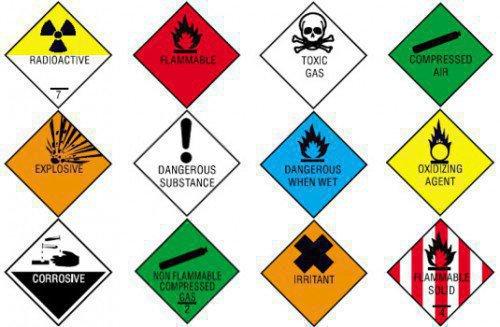 Маркировка опасных грузов
