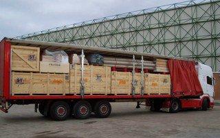 Логистическая работа в организации перевозок грузов