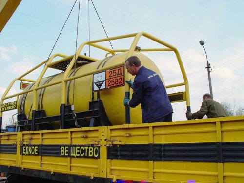 Перевозка радиоактивных грузов