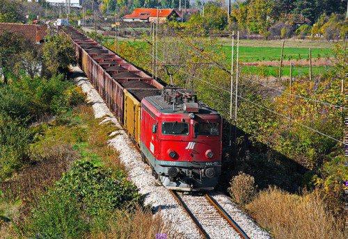 Железнодорожная грузоперевозка